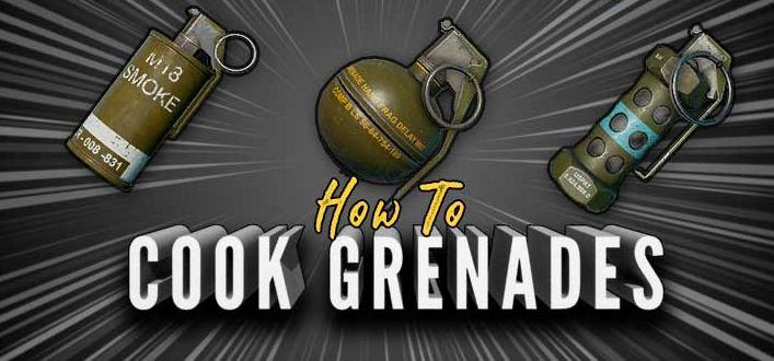 Smoke Grenade Frag Grenade