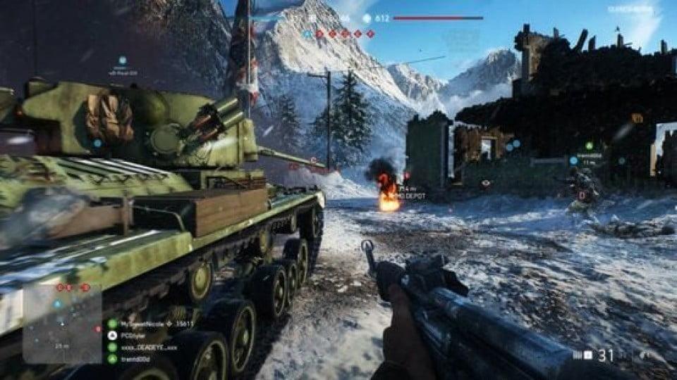Battle Field 5 Game Play Beta