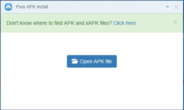 PURE APK XAPK Installer