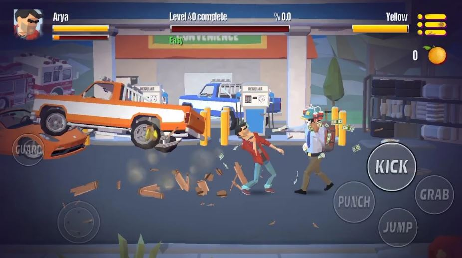 City Fighter Vs Street Gang Android and iOS Game Review also download apk now