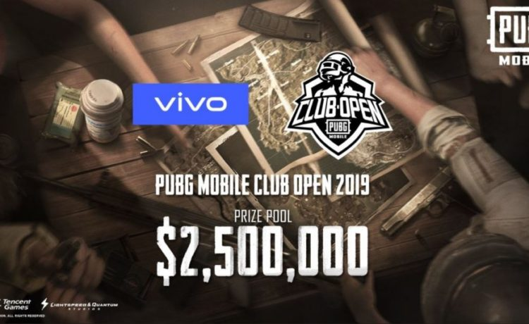 PUBG Mobile Club Open 2019 With 2.5 Million dollars prize pool
