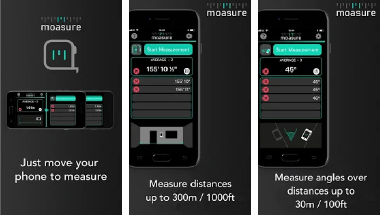 Moasure Android App