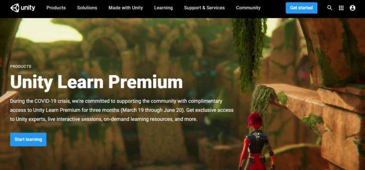 unity premium home page